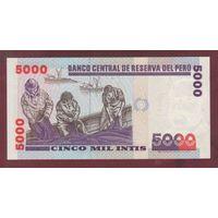 ПЕРУ. 5000 инит 1988. UNC. 4537559 распродажа