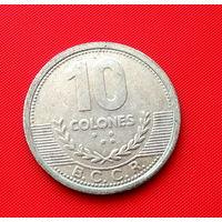 23-31 Коста-Рика, 10 колонов 2008 г.