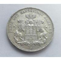 Германия (Гамбург), 3 марки 1909 год.