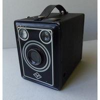 Фотоаппарат AGFA в кожаном кофре с инструкцией