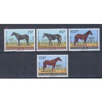 [2347] Сенегал 1971. Фауна.Лошади. СЕРИЯ  MNH