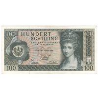 Австрия 100 шиллингов 1969 года. Первый выпуск. Нечастая! Сохран!