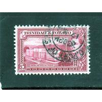 Тринидад и Тобаго.Ми-137.Король Георг VI. Здание главпочтамта и казначейства.1941