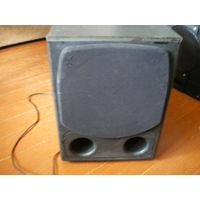 Сабвуфер активный Radiotehnika Baltic Sound ASW-1, черный, б/у, исправен.