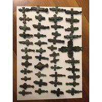 Коллекция крестов-энколпионов, киевская русь 10-13