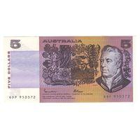 Австралия 5 долларов образца 1974 года. Состояние! Нечастая!