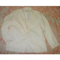 Белый пиджак на лето Hannington р.48