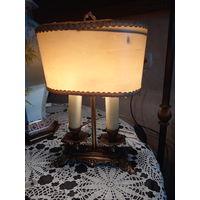 Лампа настольная  бронза старинная Франция