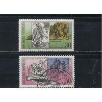 Германия ГДР 1990 500 лет почты Европы #3354-5