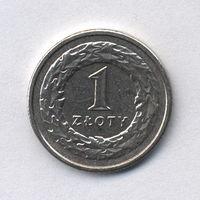 Польша, 1 злотый 1995 г.
