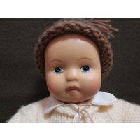 С 1 рубля!Кукла пупс антикварная фарфоровая.Ручная роспись.