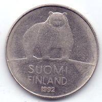 Финляндия, 50 пенни 1992 года, М.