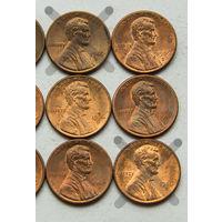 1 цент США 1986 D. Поштучно
