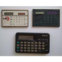 Калькуляторы 3 шт. Одним лотом.