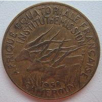 Французская Экваториальная Африка (Камерун) 10 франков 1958 г.