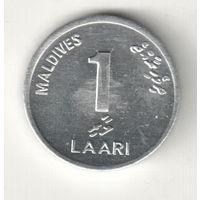 Мальдивы 1 лаари 2012
