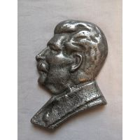 Барельеф И.В.Сталин