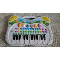 Детское пианино, со звуками животных, мелодии