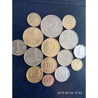 Израиль (сборный лот 15 монет )