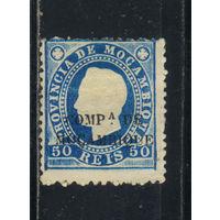 Португалия Компания Мозамбик 1892 Луис I Надп Стандарт #6**