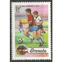 Гренада. Чемпионат мира по футболу. Германия'74. 1974г. Mi#574.
