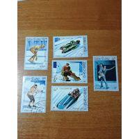 Лаос 1987. Зимние олимпийские игры.