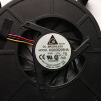 Вентилятор для ноутбука KSB06205HA DC 05V 0,40 А. Стоял на ноутбуке Fujitsu Amilo Li3910.