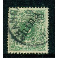 Германия\955\ Почта в Китае 5 пф (56 гр) 1898 г