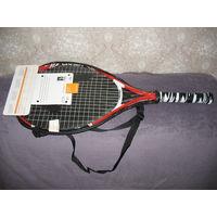 Профессиональная детская теннисная ракетка HEAD Agassi Junior 25 (8-10 лет) в чехле