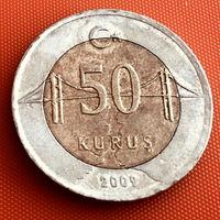 100-14 Турция, 50 куруш 2009 г.