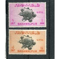 Западный Пакистан. Княжество Бахавалпур. 75 лет UPU.