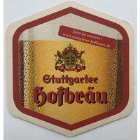 Подставка под пиво Stuttgarter Hofbrau /Германия/-4