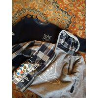Лот одежды на мальчика 98-104
