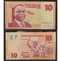 Распродажа коллекции. Нигерия. 10 найра 2006 года (P-33a - 2005-2020 Issue)