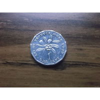 Ямайка 1 цент 1990