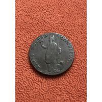 Великобритания Йоркшир 1/2 пенни 1791 г.