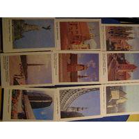 Календарики Прибалтика Литва Латвия Эстония 1990