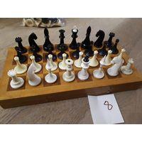 Шахматы советские, пластик. Комплект 8.