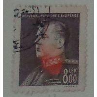 Президент Е. Ходжа. Албания. Дата выпуска:1949-10-21