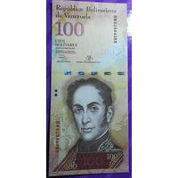 100 боливаров Венесуэла 2013 г.