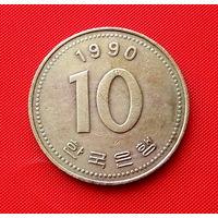 23-32 Южная Корея, 10 вон 1990 г.