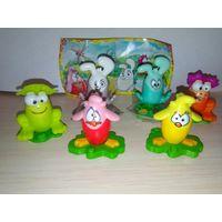 Пасхальная серия игрушек из киндера