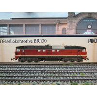 Дизельный локомотив T 679 (BR 130) PIKO. Масштаб HO-1:87.