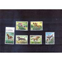 Лошади на марках Сан-Марино