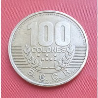 26-09 Коста-Рика, 100 колонов 1995 г.