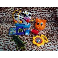 Набор развивающих игрушек Корова и друзья