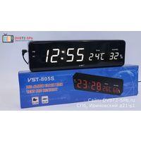 Настольные, Настенные Сетевые LED часы VST-805S