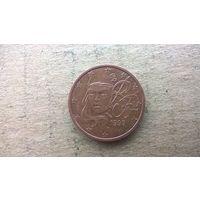 Франция 2 евроцента, 1999г. (D-4)