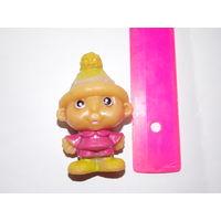 Гном, гномик- игрушка резиновая СССР, цельнолитая