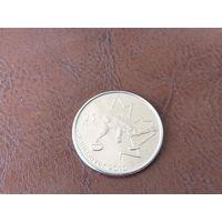 25 центов 2007 Канада ( XXI зимние Олимпийские Игры, Ванкувер 2010 - Кёрлинг )